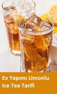 Lemon Iced Tea Recipe, Iced Tea Recipes, Cooking Recipes, Healthy Recipes, Frappuccino, Health Snacks, Slushies, Fruit Smoothies, Party Snacks
