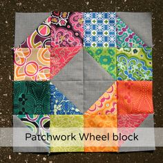 patchworkwheel by Don't Call Me Betsy, via Flickr