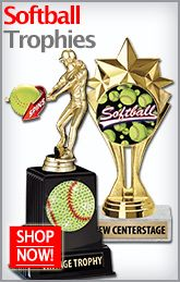 Celebrate Your Win with These Softball Trophies by Crown Awards! http://www.crownawards.com/StoreFront/Softball.ALL.Trophies.srch