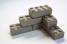 Cement building blocks by cindy
