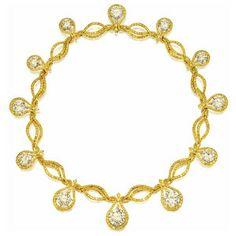 SULTANESQUE JEWELRY | IMPRESSIVE DIAMOND AND YELLOW DIAMOND DEMI-PARURE, JACOB CO.