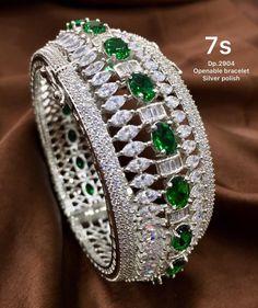 Indian, Jewellery, Diamond, Bracelets, Fashion, Moda, Jewels, Fashion Styles, Schmuck