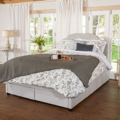 Darby Home Co Arana Upholstered Storage Panel Bed Size: Queen