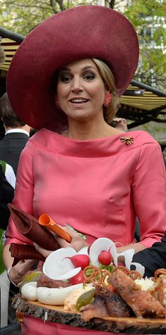 Queen Maxima of the Netherlands arrives at Munich Residenz on April 13, 2016 in Munich, Germany. King Willem-Alexander and Queen Maxima ar...