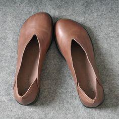 Women Retro handmade leather shoes – Buykud