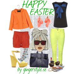 A fashion look from April 2012 featuring sleeveless tops, blazer jacket and cropped jeans. Browse and shop related looks. Cropped Jeans, Happy Easter, Blazer Jacket, Fashion Looks, Spring, Polyvore, Jackets, Tops, Happy Easter Day