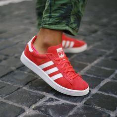 adidas Originals Campus: Red