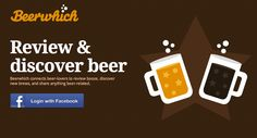 @Sean Thompson made a super cute facebook app to let you share all the beer you've been drinking :)