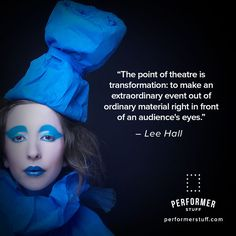 Make your performance extraordinary! #thespians #theatre #acting #actinginspiration #actingquotes #broadway
