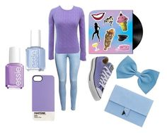 """""""Paper Gods"""" by lucynew44 ❤ liked on Polyvore featuring moda, H&M, Ralph Lauren, Converse, Dora, Essie, women's clothing, women, female y woman"""