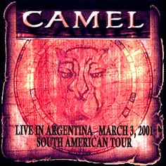 American Tours, Progressive Rock, Music Albums, New Age, Cover Art, Album Covers, Camel, Folk, Blues