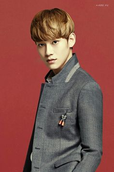 EXO's Chen in IVY Club for Back To School photoshoot.