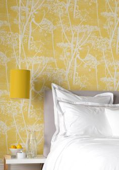 Cole and Son Cow Parsley Wallpaper - New Contemporary Luxury Wallpaper, Modern Wallpaper, Bedroom Wallpaper, Wallpaper Ideas, Original Wallpaper, Flower Wallpaper, Modern Bedroom Furniture, Bedroom Decor, Cole And Son Wallpaper