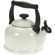 Le Creuset Fluitketel Tradition, wit