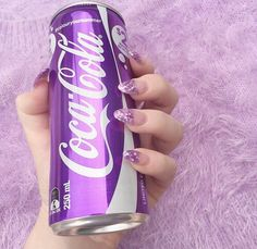 This coca-cola sounds like it tastes very good. I believe that it is a grape flavored coca-cola. Purple Love, All Things Purple, Purple Rain, Shades Of Purple, Pink Purple, Purple Stuff, Light Purple, Periwinkle, Violet Aesthetic