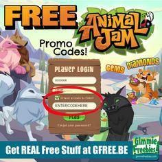 Animal Jam Promo Codes 2015 | Free Diamonds, Gems & Memberships - http://gimmiefreebies.com/animal-jam-promo-codes/