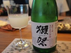 Best Japanese sparkling rice wine ever!