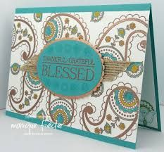 Image result for stampin up paisleys & posies