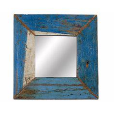 Blue Square Mirror III design inspiration on Fab.