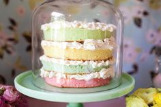Can I borrow this cake stand please? And, the cake too? I promise I'll return the cake stand!
