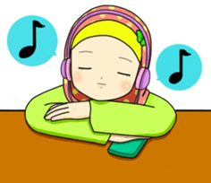 Hana is a girl who loves hijab and always being positive. Let's have fun with her cute expression!