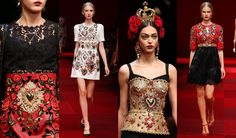 dolce-and-gabbana-spring-summer-2015-women-fashion-show-review-and-inspiration-ex-voto.jpg (736×432)