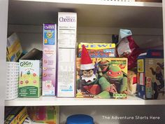 Elf on the Shelf Shenanigans - Week 3