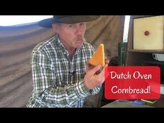 How to Bake Cornbread in a Dutch Oven with Wood Coals If you're new to cast iron and Dutch oven cooking, cornbread is a great beginner recipe to try. Cast Iron Cooking, Oven Cooking, Cooking Tools, Campfire Food, Campfire Recipes, Kent Rollins, Camping Cookies, Best Selling Cookbooks, Dutch Oven Camping