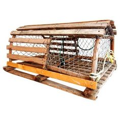 Check out this item at One Kings Lane! Maine Wood Lobster Trap