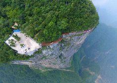 Üveghíd Kínában | Fotó via boredpanda.com - PROAKTIVdirekt Életmód magazin és…