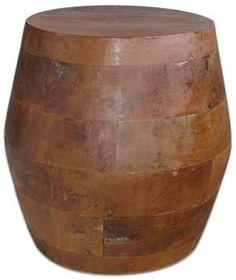 Barrel Kodiak Side Table