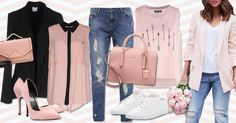 #TrovaModa suggestions for the color of the year by #Pantone #Rose Quartz and what to wear it with.