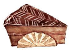 Dessert Illustration, Illustration Art, Watercolor Food, Watercolour, Food Artists, Food Log, Food Painting, Pastry Art, Food Stickers