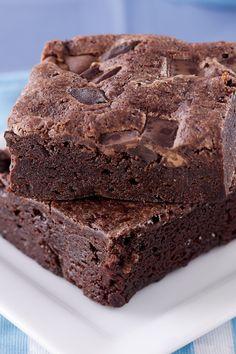 Healthy Black Bean Brownies #Recipe #Dessert