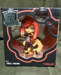 Monster High Vinyl Figures Toralei Stripe In Box