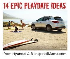 14 Awesomely Epic Play Date Ideas from Hyundai and B-InspiredMama.com #EpicPlayDate #CGC #spon