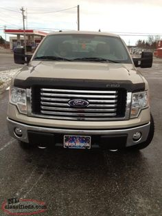 2010 FORD F150 4x4 CREW CAB  - $1000's in extras!!! LOW KM'S