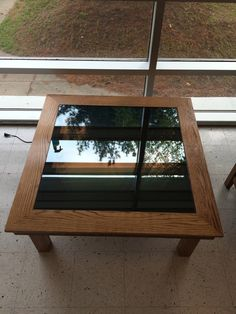 And here's the completed table! Pretty nice on it's own...