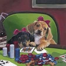 Jenny Newland - Poker Pups 3