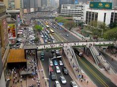 BRT, Guangzhou, bus rapid transit, mass transit, livable streets, bus, public transit, ITDP, the Institute for Transportation and Developmen...