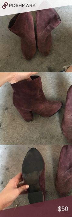 Oxblood booties Slightly worn Joe's Jeans Shoes Ankle Boots & Booties