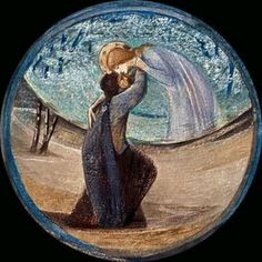 "From Edward Burne-Jones' ""Flower Book"". A beautiful collection of his works."