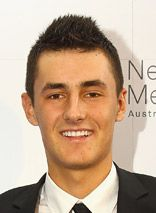 Bernard Tomic def. Dustin Brown in straight sets to advance to 2nd round