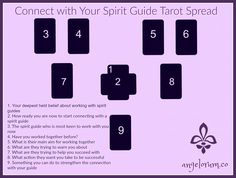 Connect with Your Spirit Guide Tarot Spread   Angelorum - Tarot Healing
