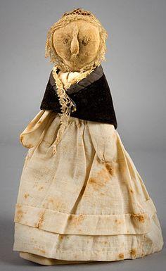 1830s American rag doll