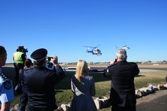 Taking pictures at the launch of our second police helicopter Taking Pictures, Police, Product Launch, Law Enforcement