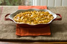 macaroni and cheese with pumpkin. that'll warm you from the insides out!