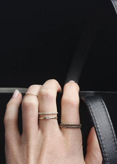 """""""Whether stacked, layered, or worn by themselves, we're really into Vrai & Oro's pieces and entire concept—they're the perfect investment pieces to make without actually having to shell out your entire rent check for."""" - InStyle 