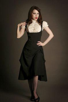 FairyGothMother. Steampunk style dress.  | followpics.co