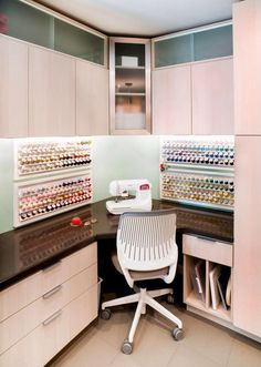 Fun Crafting Spaces get organized Pinterest Craft Room and